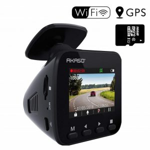 AKASO Best Car Dashboard Camera in India
