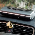 ANSIO Best Car Air Purifier In India 2020 HEPA Active Carbon Filter UV Lamp Ionizer