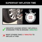 Bergmann Typhoon Best Car Tyre Inflator In India 2020 with Heavy Duty Metal