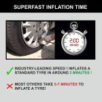Bergmann Typhoon Best Car Tyre Inflator In India 2020 with Heavy Duty Metal