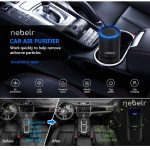 Nebler Best Car Air Purifier Ionizer In India 2020 And Air Sanitizer-Removes Smoke,Dust and Bad Smell