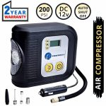 TIREWELL Best Digital Tyre Inflator In India 2020 Auto Cut Off Portable Air Compressor In India