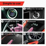 TUSA Best Digital Car Tyre Inflator In India 2020 with LED Light