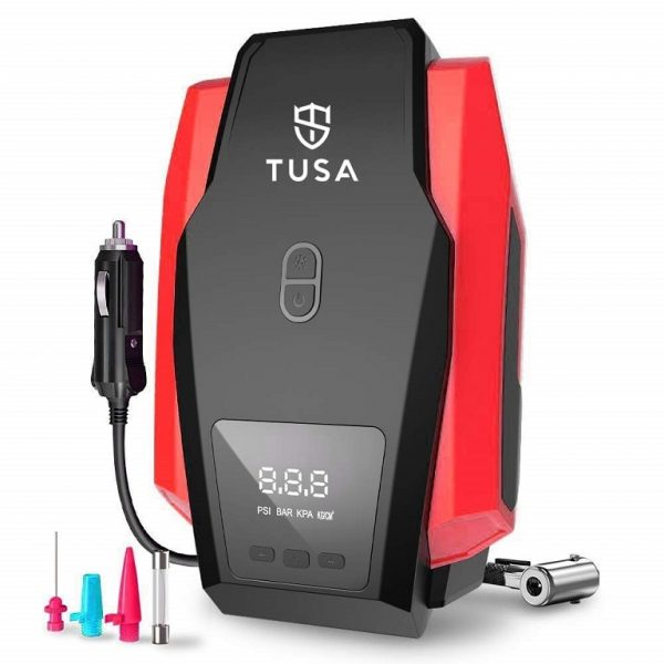 TUSA Best Digital Car Tyre Inflator in India